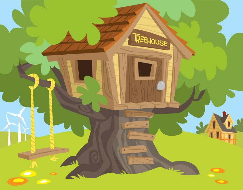 Illustration For Great River Energy Kid S Club Tree House Designs Tree House Kids Tree House These one of a kind tree houses feature whimsical designs full of curves, colors, and can even make your kids feel like they're inside their favorite dr seuss book with one of these cartoon tree houses. illustration for great river energy kid