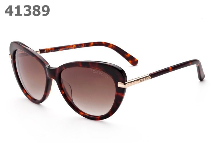 Tom Ford Willa Sunglasses TF293 brown frame