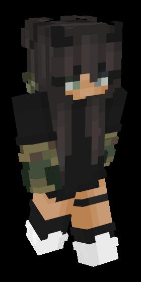 Egirl Minecraft Skins Namemc In 2020 Minecraft Skins Aesthetic Minecraft Skins Minecraft Girl Skins