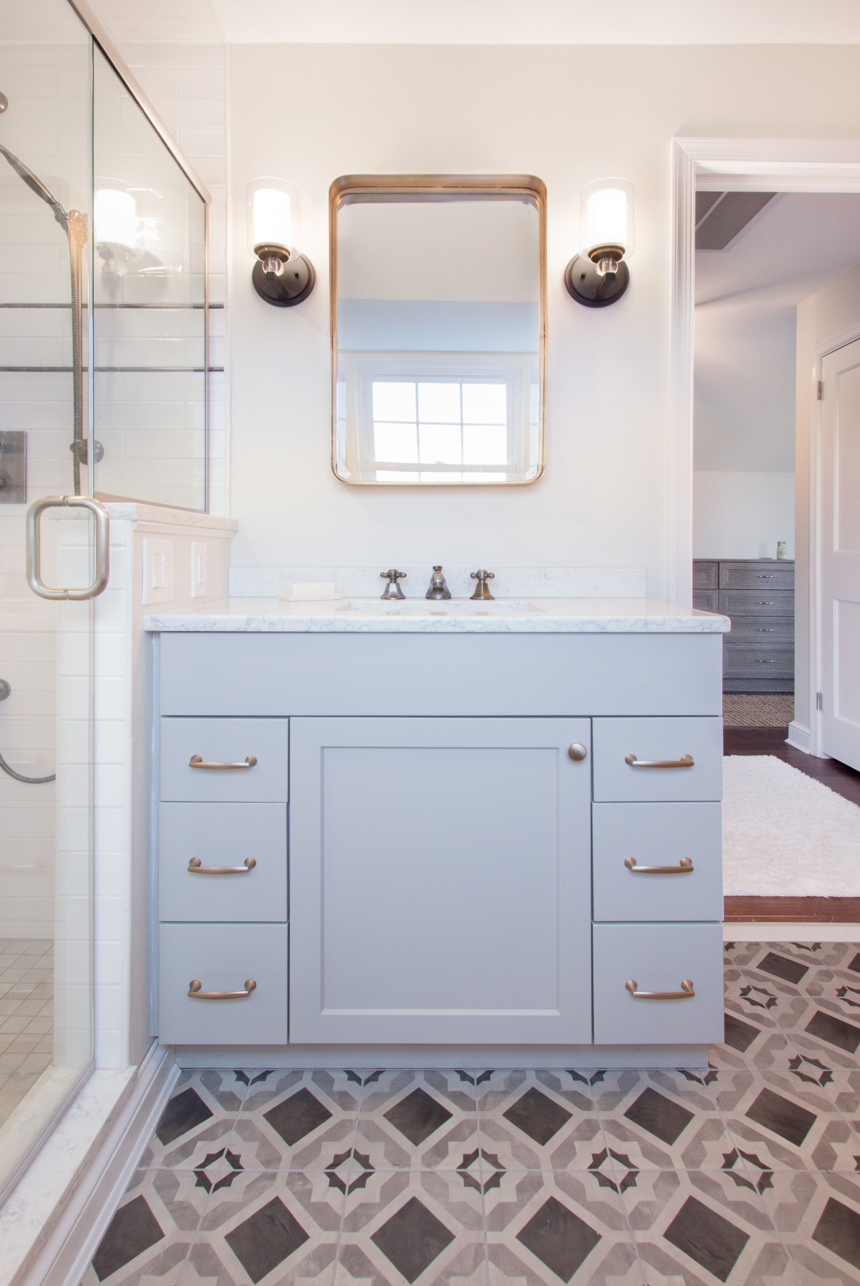 Mark Iv Kitchen Bath Gallery Designed And Installed This Stunning Bathroom Remodel Featuring Electric F Kitchen And Bath Remodeling Bathrooms Remodel Remodel