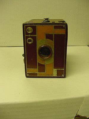 Extremely Rare Art Deco Era Kodak Beau Brownie Camera w/ Doublet Lens No Reserve | eBay