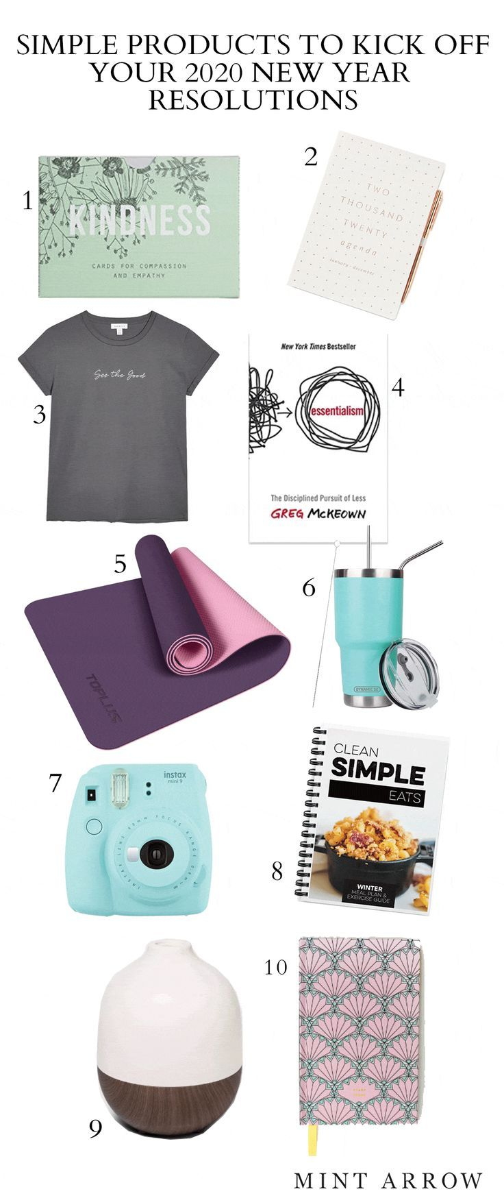 Simple products to kick off your 2020 new year resolutions ...