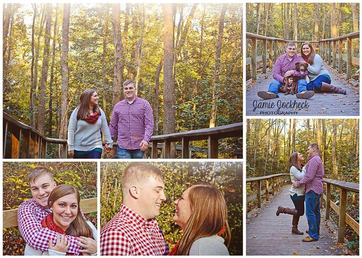 © Jamie Jockheck Photography www.facebook.com/jamiejockheckphotography #photography #couple #married #love #familyphoto #fall #autumn