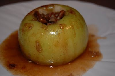 Microwave Baked Apples | The Cutting Back Kitchen