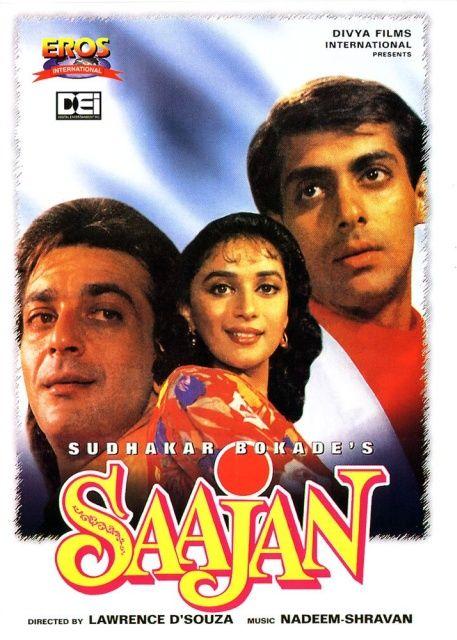 Saajan (1991) Hindi Film   Full movies online free, Full ...