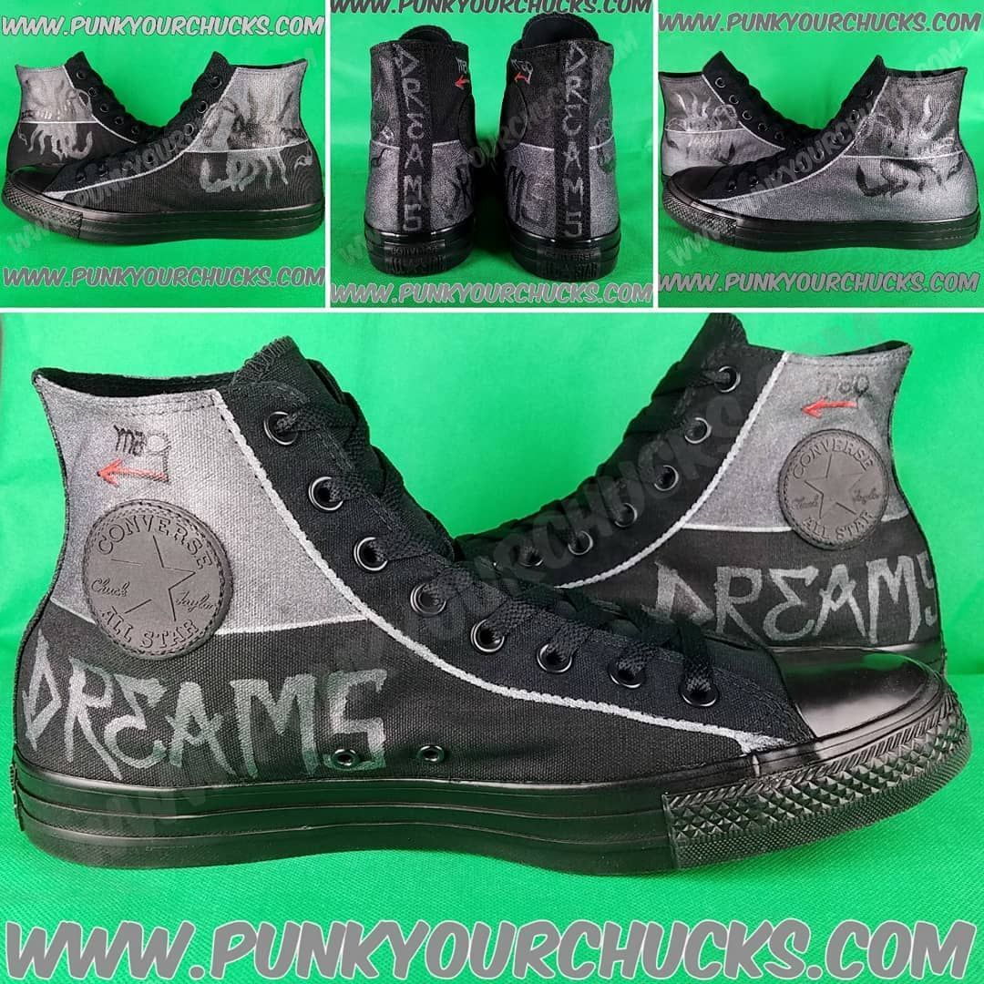 7aea6475cd2e SPECIAL Custom DREAMS Converse Chuck Taylors made exclusively for Luke  Steele and Daniel Johns in their new band