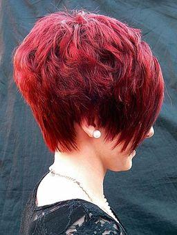 Kurzhaarfrisur Rot Frech Look 432 Frisurenbilder Kurzhaarfrisuren Kurzhaarfrisuren Rot Kurze Haare