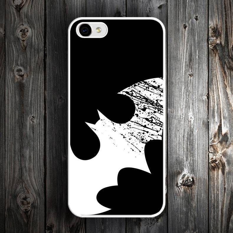 Batman Logo Superhero Cover For Iphone 4 4S 5 5S 6 6S 7