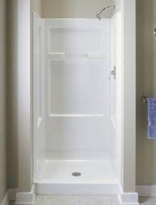 549 Sterling By Kohler 36 White Vikrell Shower Stall Wall