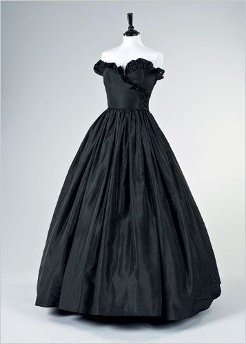 Diana's iconic black dress worn following the announcement of her engagement
