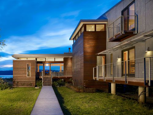 Modern Coastal House Design 2 home Pinterest Modern coastal