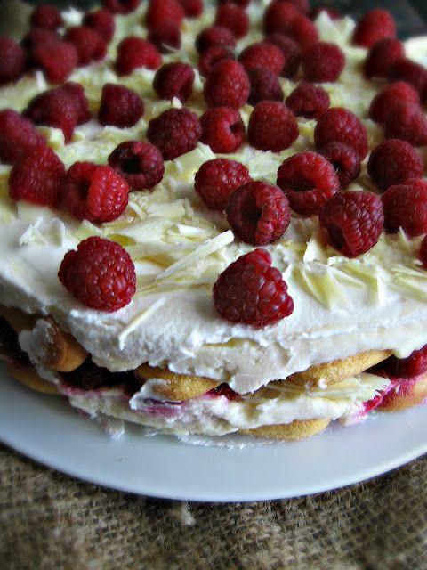 Raspberry & White Chocolate Tiramisu