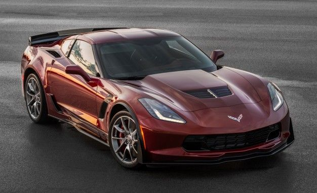 Red Black and Blue 2016 Corvette and Z06 fer New Design