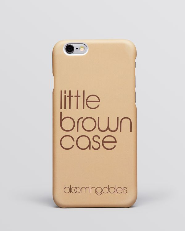 Bloomingdale's iPhone 6 Case - Little Brown Case