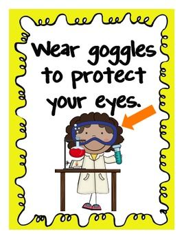 933b8236 Science Lab Safety Posters for Elementary Students | Education ...