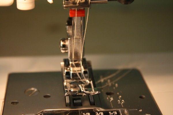 stretch stitching double needle