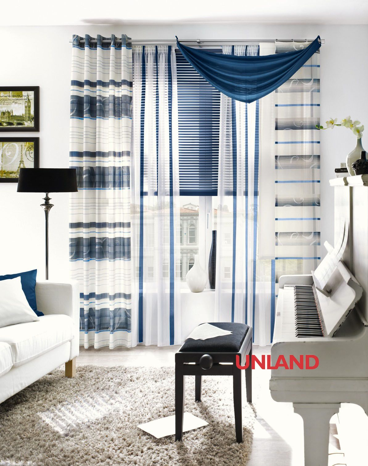unland andro fensterideen vorhang gardinen und sonnenschutz curtains contract fabrics. Black Bedroom Furniture Sets. Home Design Ideas