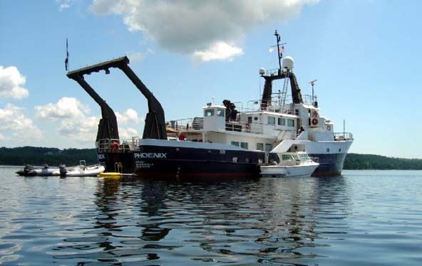 PHOENIX is a 39 6m Expedition/Research/Sub-Tender/Adventure Yacht