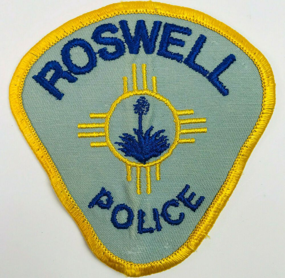 Roswell Police Chaves County New Mexico Patch eBay in