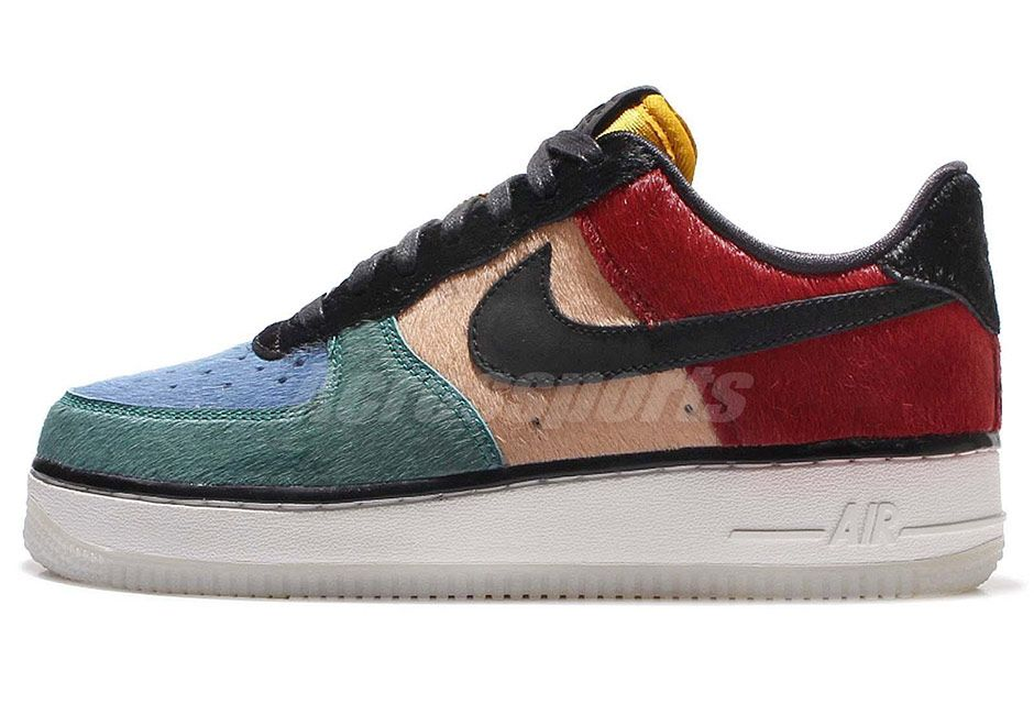 pretty nice d1101 15871 ... Low Pony Hair Nike WMNS Air Force 1 Multicolor Pony Hair 616725-400  SneakerNews.com Air ...
