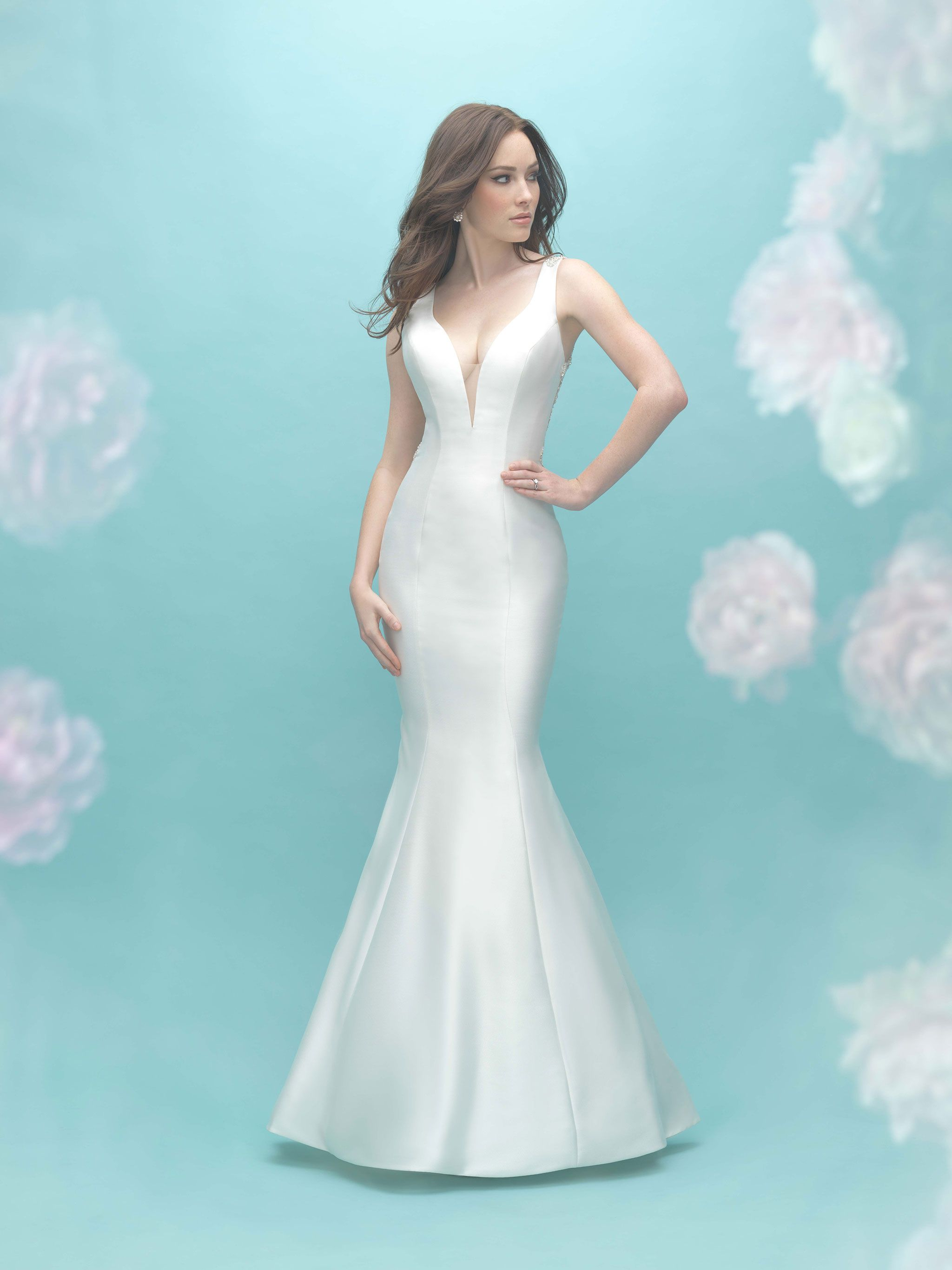 The Allure Bridal Collection Can Be Found At Bellevue Boutique La Belle Elaines Pearls And Lace Wedding Bell