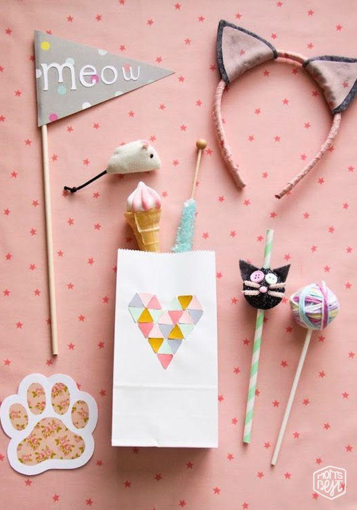 Festeja con una tierna decoracion de Gatos | Pinterest