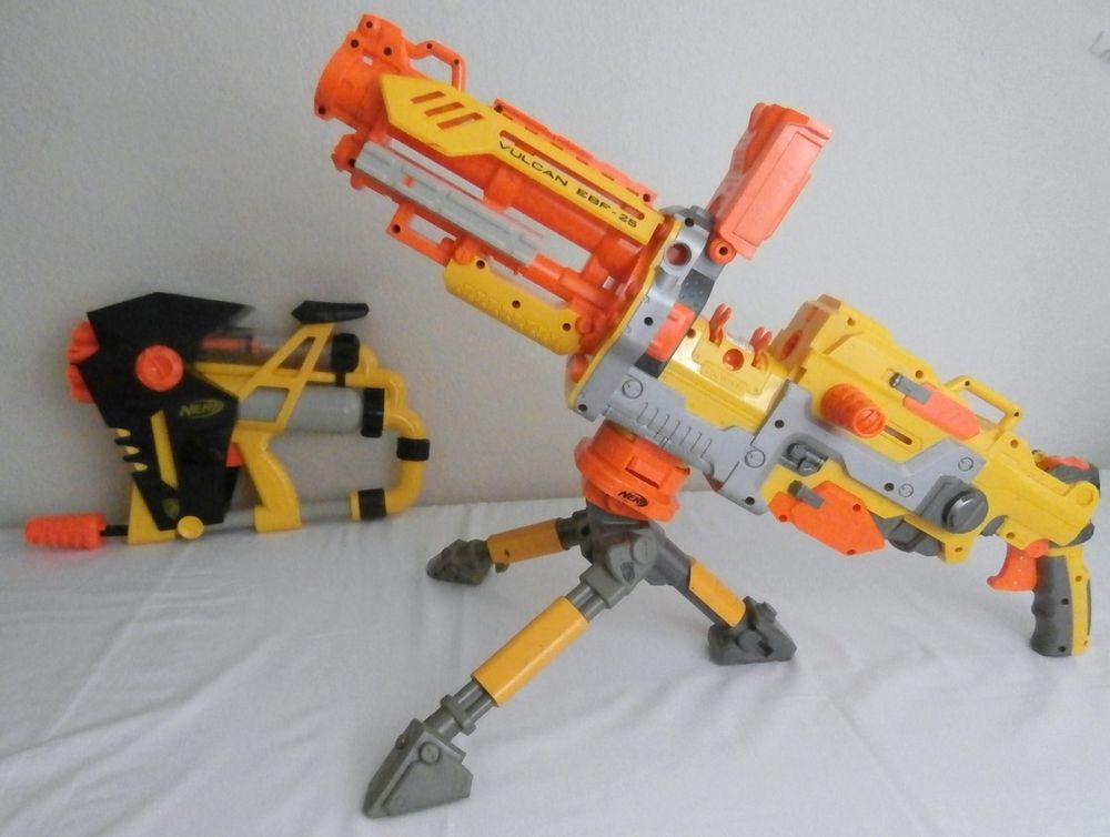 Light Up Rotary Machine Toy Gun with Tripod Stand by ArtCreativity |  Rotating Barrel, LED