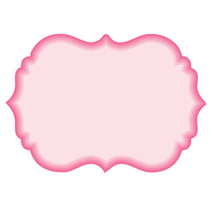 Silhouette Design Store Nested Fancy Label Shapes Label Shapes Design Store Shapes