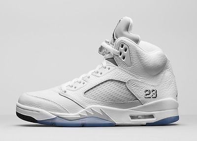 finest selection 6a5a8 d08a4 Retail - Nike Air Jordan 5 Retro  Metallic Silver