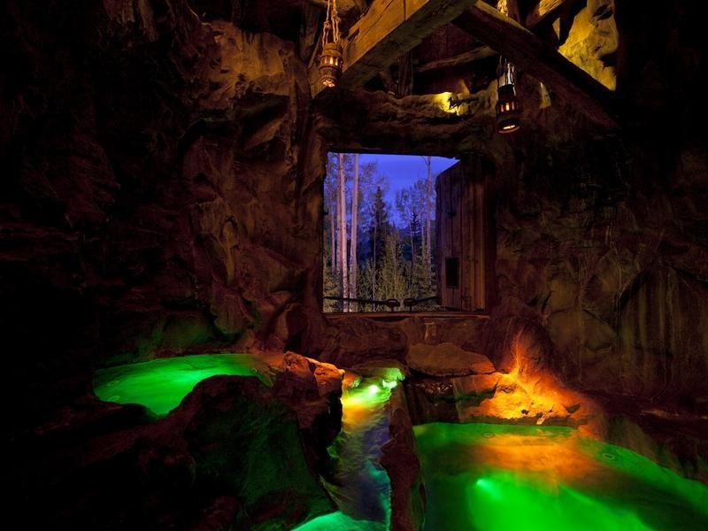 Indoor Cave Pool Dream Home Interiors Pinterest Indoor