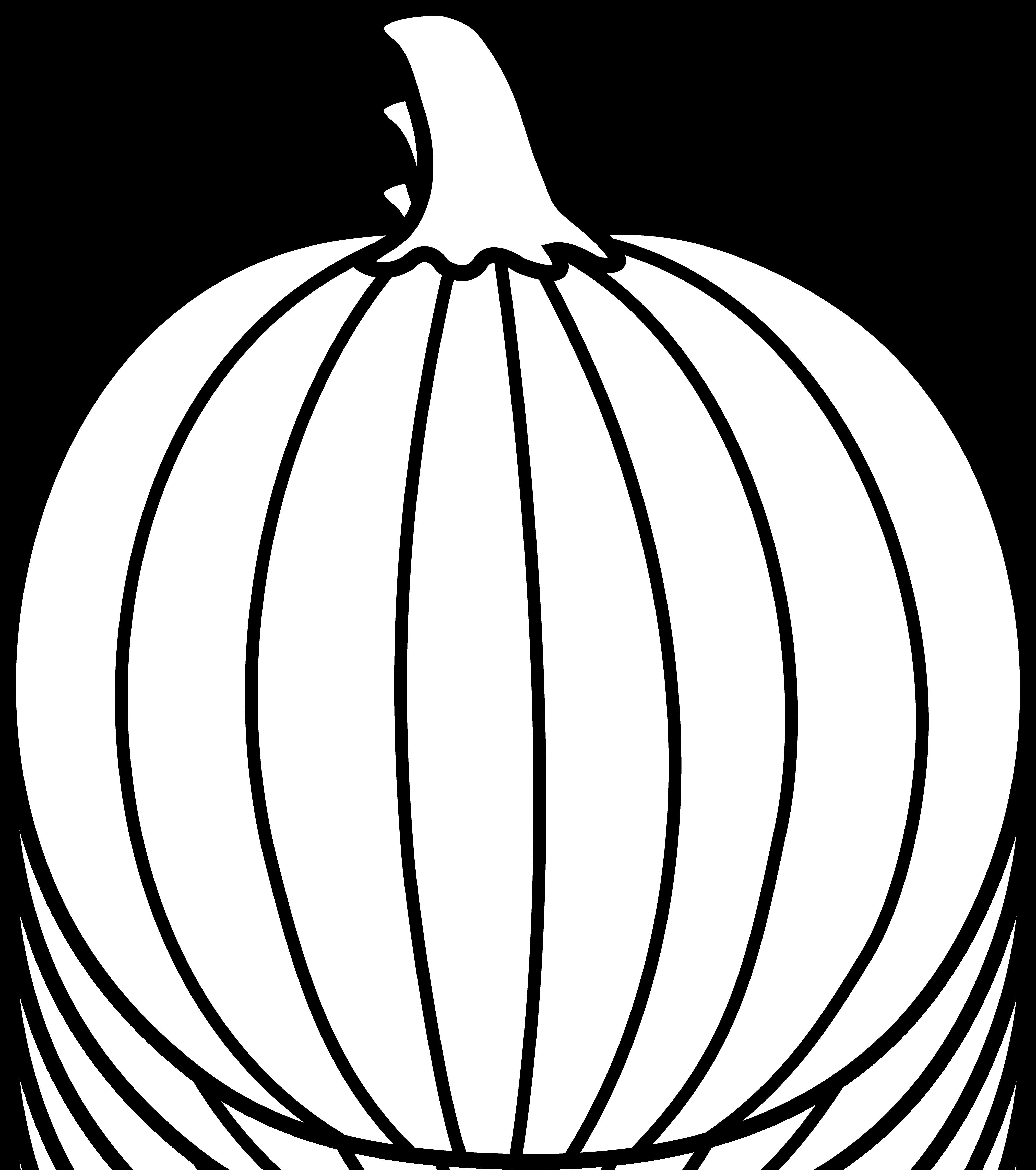 Pumpkin Outline Printable - Clipart Panda  Free Clipart Images