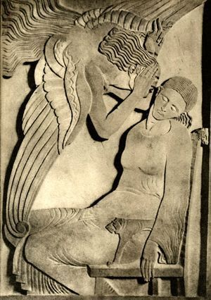 The Annunciation, Ivan Mestrovic