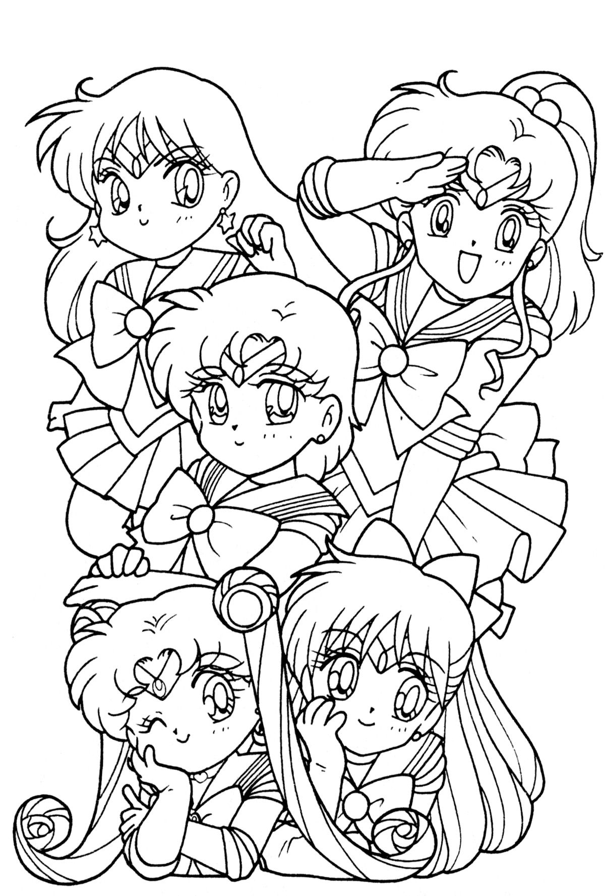 sailor chibi | Sailor moon | Pinterest | Colorear, Sailor moon y ...