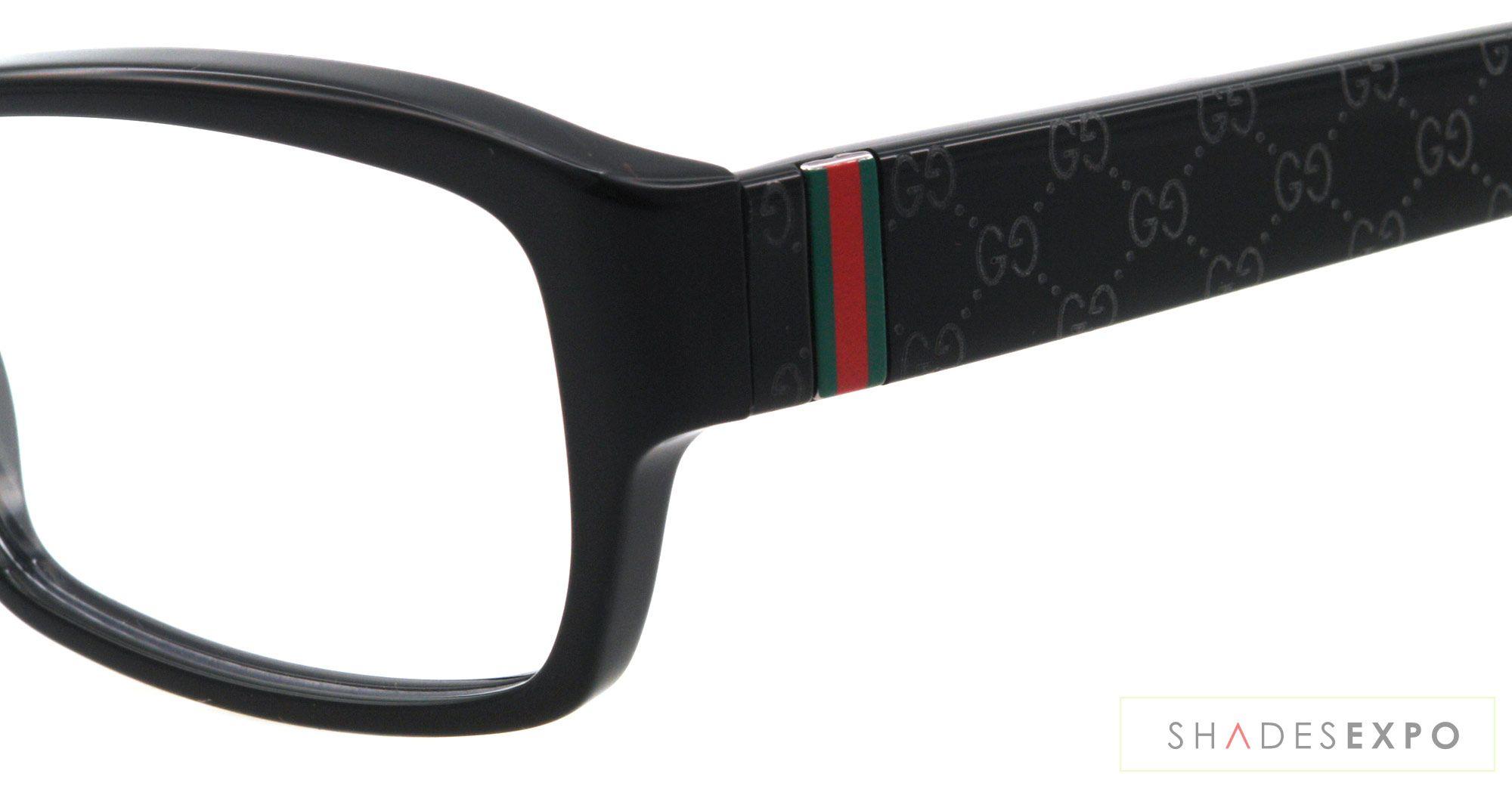57acab271408 gucci frames | New Gucci Eyeglasses GG 3198 Black 807 GG3198 54mm | eBay