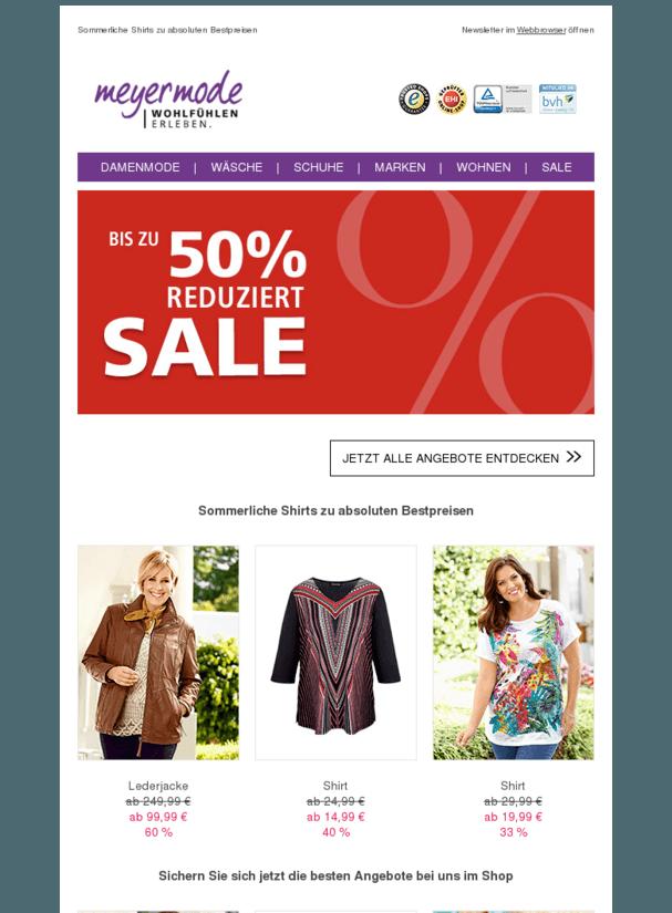 f4eb05e02522c Bis zu 50 % reduziert: Entdecken Sie unseren Sale! | Mode ...