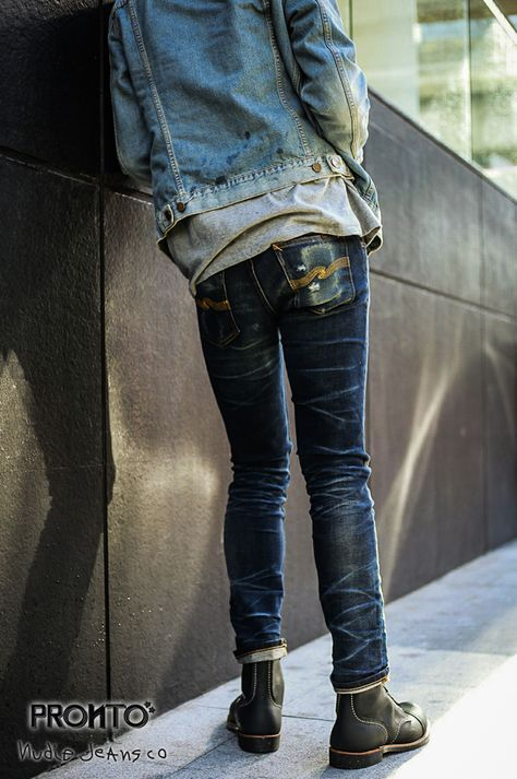 ed2d528cb61 PRONTO NUDIEJEANS Mens Casual Jeans