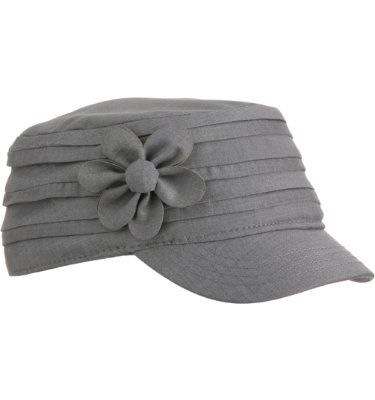 Lady Hagen Women S Flower Military Cap At Golf Galaxy Womens Golf Fashion Ladies Golf Golf Hats