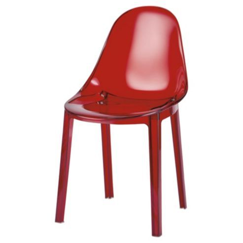 Buy Palermo Stacking Chair Transparent Red From Our Dining Chairs Range At Tesco Direct We Stock A Great Of Products Everyday Prices