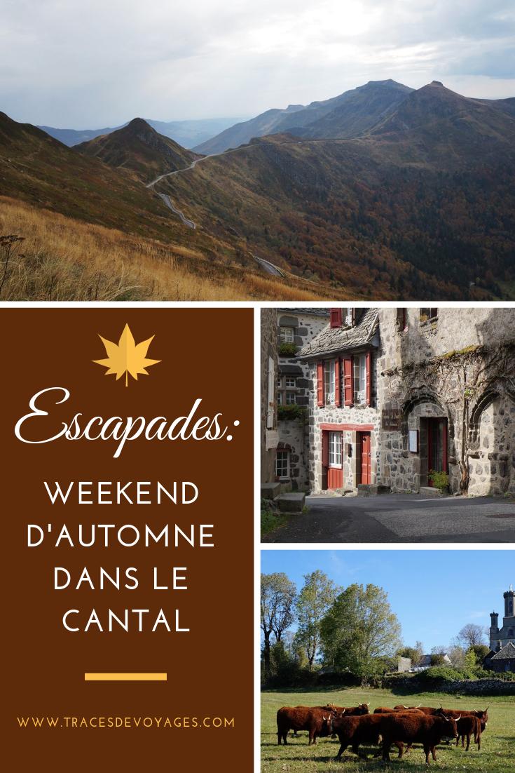 Que Faire Ce Week End Dans Le Cantal : faire, cantal, Escapades:, Weekend, D'automne, Cantal, Traces, Voyages, Cantal,, Voyage,, Salers