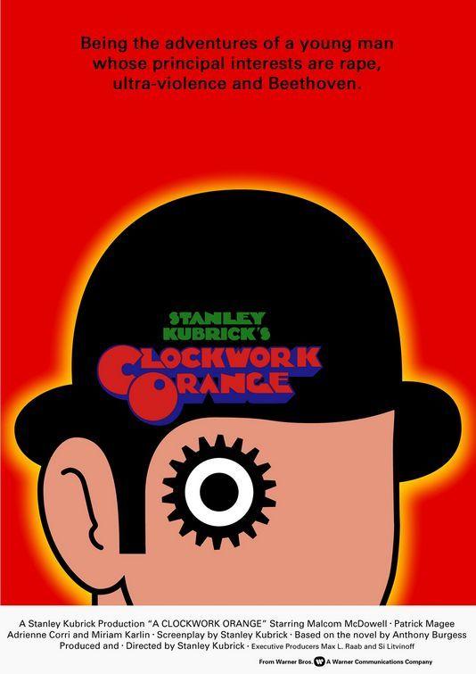 Poster Image For A Clockwork Orange