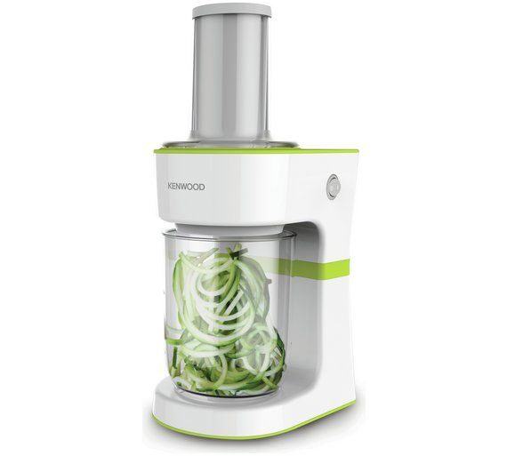 buy kenwood spiralizer food slicer white at argos co uk your online shop for electric knives and food slicers kitchen electricals h fruit repen kookgerei buy kenwood spiralizer food slicer