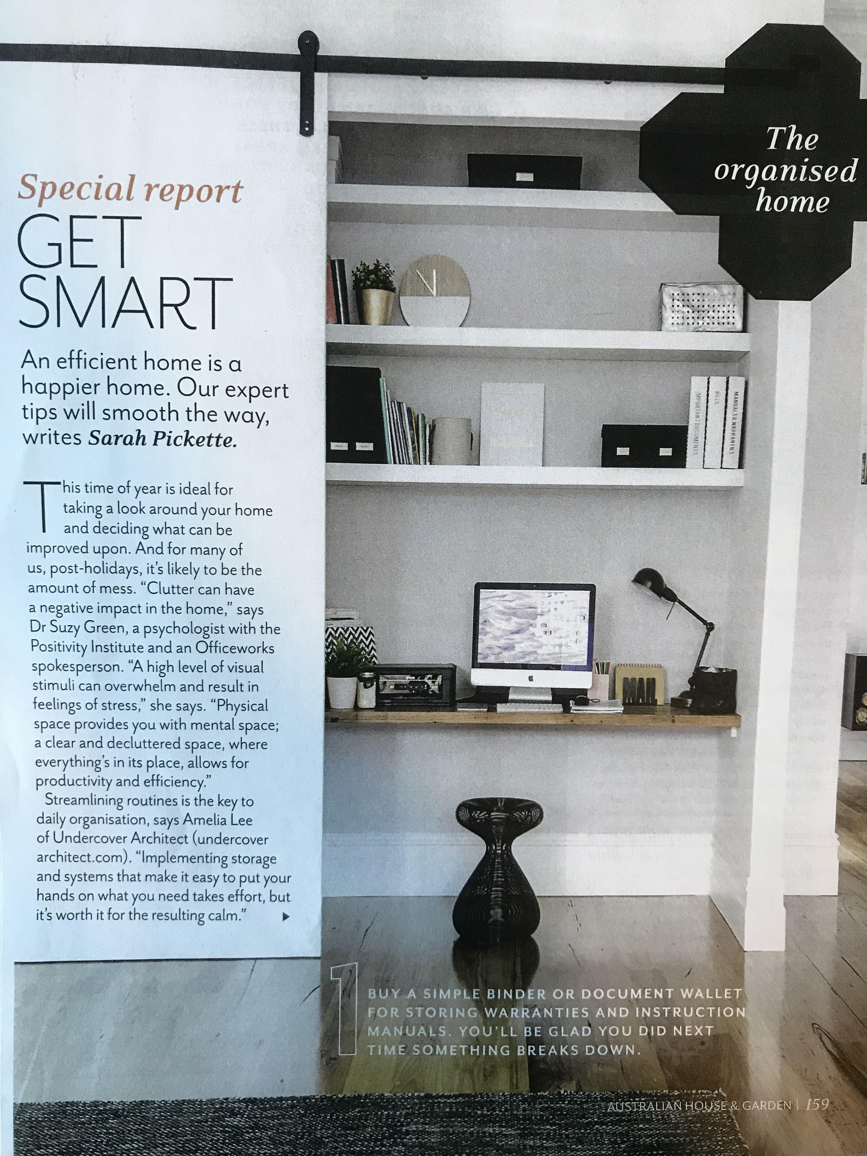built in desk and storage for study australian house and garden rh pinterest com