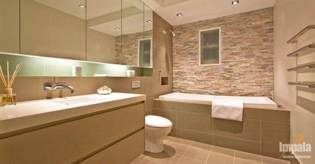 Bathroom Tiles Feature Wall feature wall bathroom - google search | small bathroom ideas