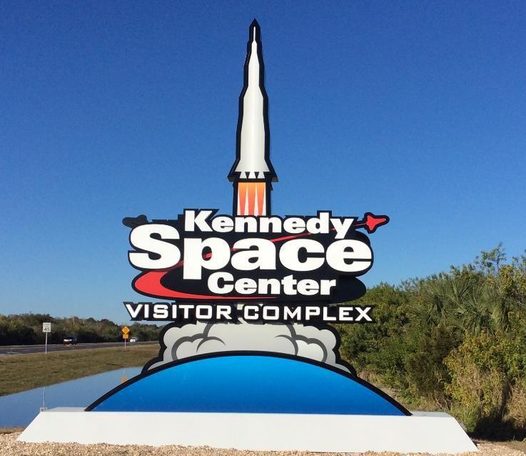 Entrance To KSC Visitor Center