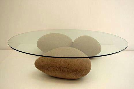 Mesa de piedras.