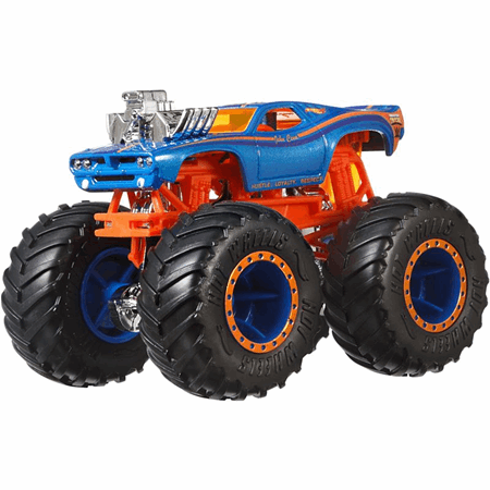 Hot Wheels Monster Trucks Wwe Gcr91 Mattel Donmus Tatlilar Ahsap Palet Tatli