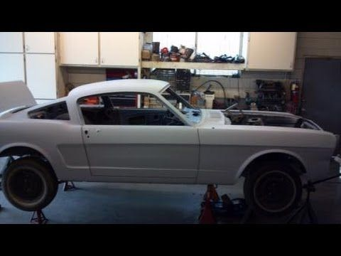 1965 Mustang Fastback Restoration Project Undercarriage Inspection All Original Mustang Fastback Mustang Restoration 1965 Mustang