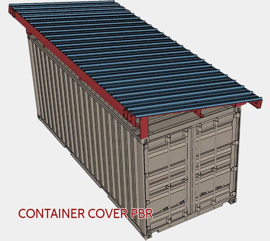 188 Best Shipping Container Trailer Images In 2019 Pinterest >> Podroof Shipping Container Roof Kits By Shield Container Homes In