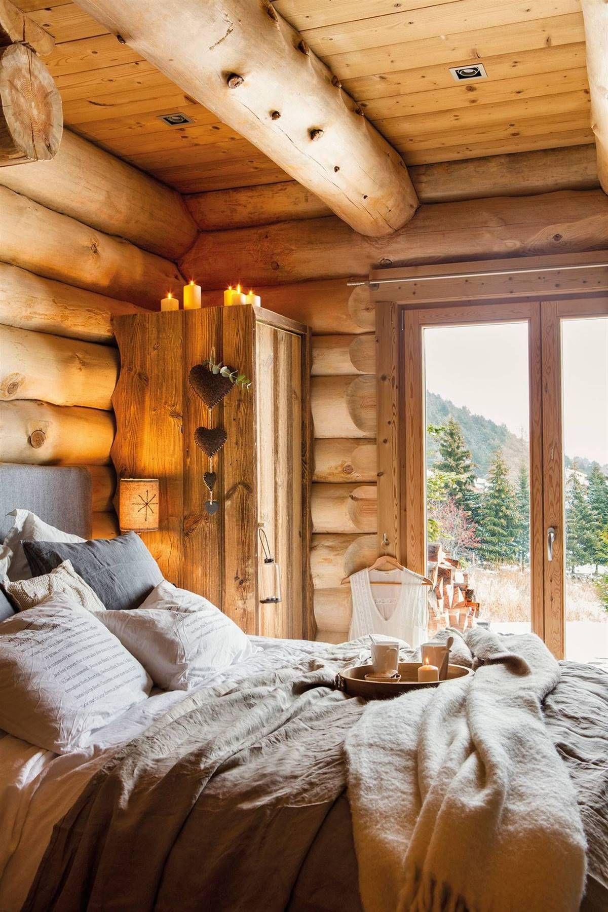 Una Cabana En La Nieve Mimetizada Con El Paisaje Dormitorio Rustico Casas Estilo Cabana Casa De Montana Moderna