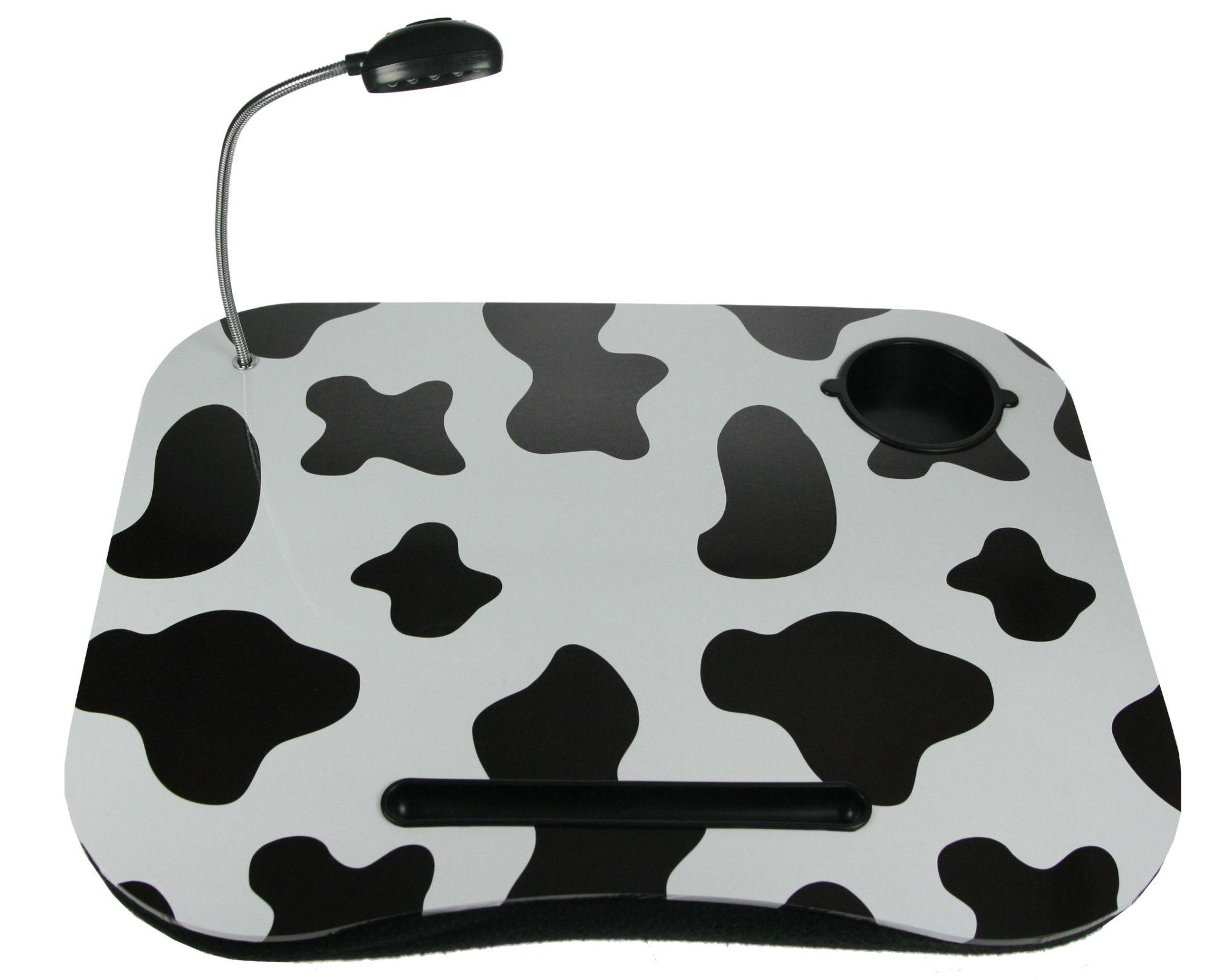 Столик для ноутбука Буренка с подсветкой 48*38*8см - фото